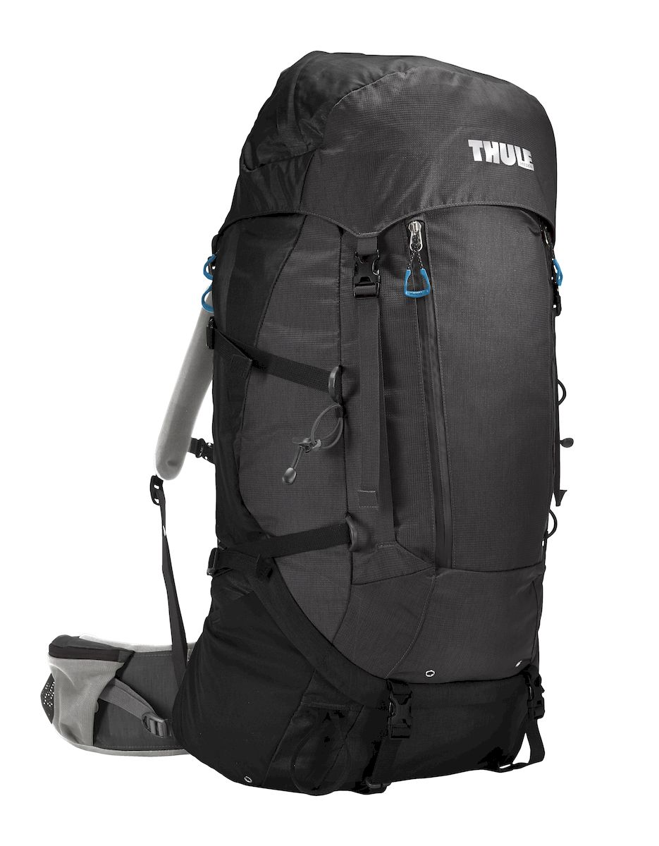 Рюкзак треккинговый мужской Thule Guidepost, цвет: темно-серый, 65 л206300Удобный треккинговый мужской рюкзак Thule Guidepost отличается настраиваемой системой крепления TransHub, обеспечивающей идеальную посадку, поворачивающимся набедренным ремнем, который позволяет рюкзаку повторять ваши движения, специальными наплечными и набедренными ремнями для женщин и крышкой, способной трансформироваться в дополнительный рюкзак, который поможет вам покорить любую вершину.Легкая регулировка ремней для торса на 15 см обеспечивает идеальную посадку, а наплечные ремни QuickFit позволяют выбрать из один из трех вариантов длины наплечных ремней. Система крепления Transhub с алюминиевой опорой и проволочным каркасом из пружинной стали позволяют перенести вес рюкзака на бедра, обеспечивая более удобную переноску. Поворачивающийся набедренный ремень позволяет рюкзаку повторять ваши движения, обеспечивая большую естественность передвижения и улучшенный баланс. Съемная крышка трансформируется в просторный рюкзак 24 л, позволяя сочетать два рюкзака в одном. Удобный доступ к содержимому рюкзака благодаря большой J-образной застежке на молнии на боковой панели. Воздухопроницаемая задняя панель обеспечивает поддержку в главных точках соприкосновения, но при этом позволяет воздуху циркулировать и не дает вам потеть. Два больших передних кармана на застежках-молниях предназначены для хранения часто используемых предметов. Удобное хранение треккинговых палок или ледоруба при помощи двух петель-креплений. Два кармана на набедренном ремне с застежками-молниями и эластичные боковые карманы позволяют хранить бутылки, еду и другие мелкие предметы. Конструкция, предназначенная для хранения воды, включает внешний карман для бутылки с водой и обеспечивает удобный доступ к ней.