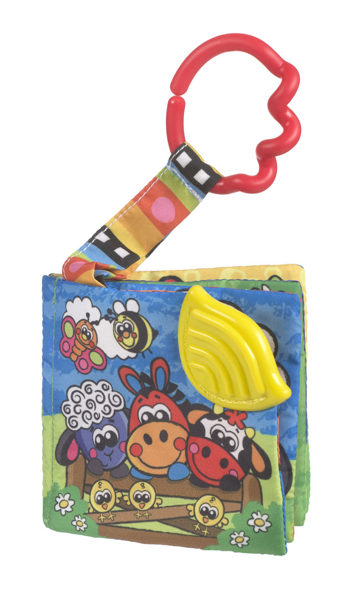 Playgro Книжка-игрушка Ферма