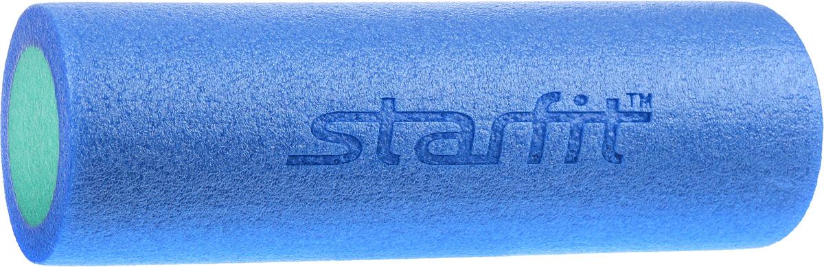 Ролик для йоги и пилатеса Starfit FA-501, цвет: синий, зеленый, диаметр 15 смУТ-00007263_синий, зеленыйРолик для йоги и пилатеса Star Fit FA-501, выполненный из этиленвинилацетата, укрепляет брюшной пресс, стимулирует растяжку длинных мышц спины.Такой гимнастический ролик повышает тонус мышц брюшного пресса, рук, ног, бедер и плеч, а также улучшает рельеф и форму живота.