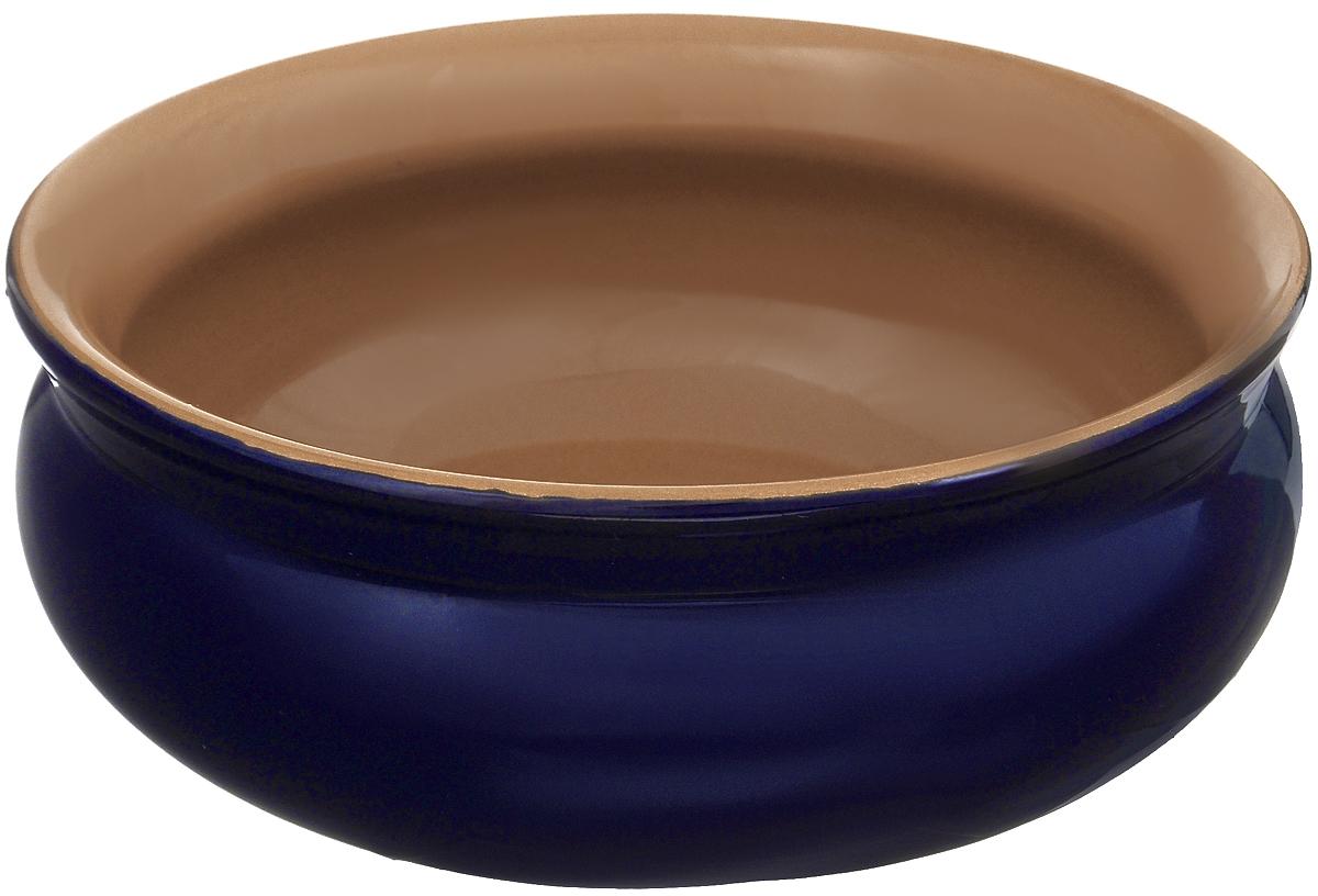 Тарелка глубокая Борисовская керамика Скифская, цвет: темно-синий, 800 мл115510Глубокая тарелка Борисовская керамика Скифская выполнена из высококачественной керамики.Изделие сочетает в себе изысканный дизайн с максимальной функциональностью. Она прекрасно впишется в интерьер вашей кухни и станет достойным дополнением к кухонному инвентарю. Тарелка Борисовская керамика Скифская подчеркнет прекрасный вкус хозяйки и станет отличным подарком. Можно использовать в духовке и микроволновой печи.Диаметр тарелки (по верхнему краю): 16 см.Объем: 800 мл.