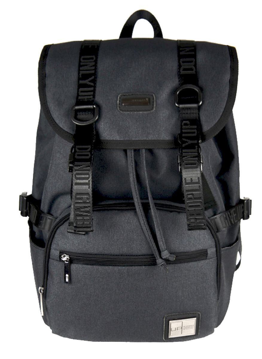 Рюкзак дизайнерский UFO people, цвет: темно-серый. 23 л. 5375 ufo people рюкзак школьный цвет черный серый