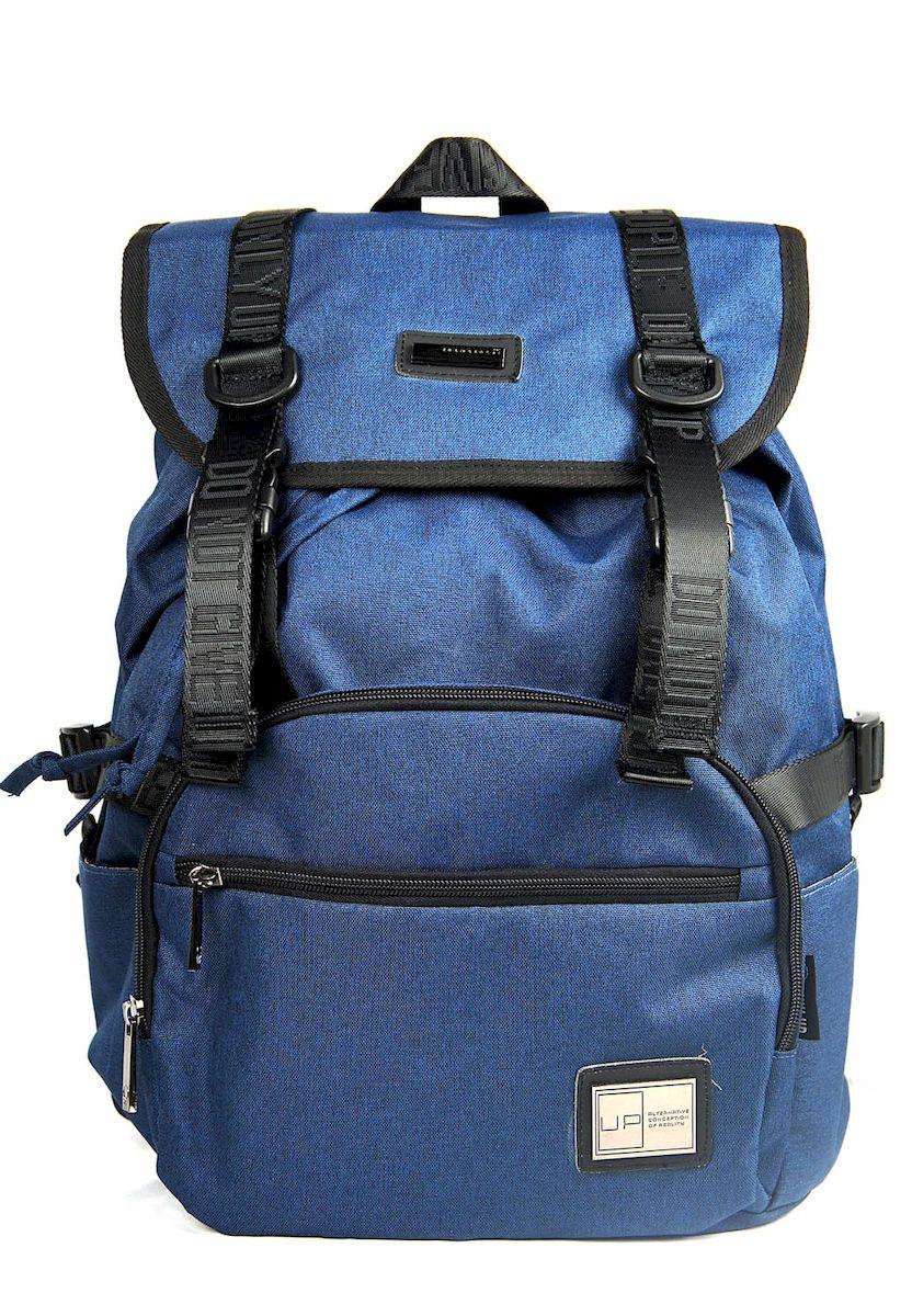 Рюкзак дизайнерский UFO people, цвет: синий. 23 л. 5376 ufo people рюкзак школьный цвет розовый
