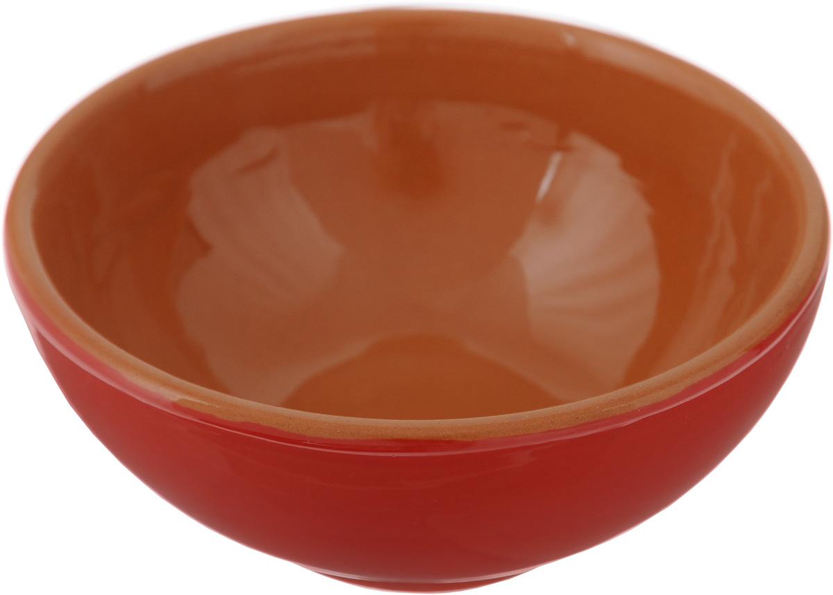 Розетка для варенья Борисовская керамика Красный, 200 мл115510Розетка для варенья Борисовская керамика Красный изготовлена из глины. Изделие отлично подойдет для подачи на стол меда, варенья, соуса, сметаны и многого другого.Такая розетка украсит ваш праздничный или обеденный стол, а яркое оформление понравится любой хозяйке. Можно использовать в духовке и микроволновой печи. Диаметр (по верхнему краю): 10 см.Высота: 4 см.Объем: 200 мл.