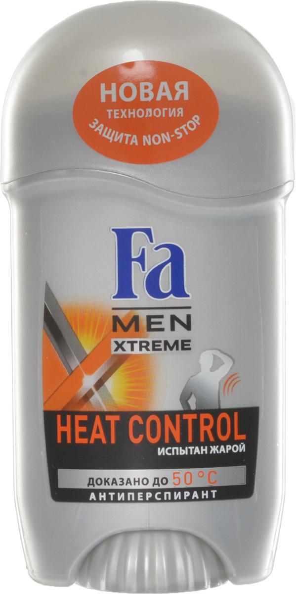 FA MEN Xtreme Део-Стик Heat Control, 50 млMP59.4DFA MEN антиперспирант Xtreme Heat Control. При повышении температуры усовершенствованная формула усиливает уровень защиты для экстремального контроля над потом в любой ситуации. Инновационная технология Sweat Detect борется с потом еще до его появления. Клинические испытания доказали эффективную защиту против пота и запаха, даже в экстремально жарких условиях. Протестирован при t до 50°C.Также почувствуйте притягательную свежесть, принимая душ с гелем для душа Fa Men Xtreme.