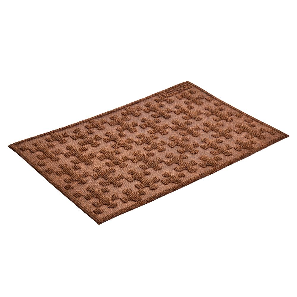 Коврик придверный Vortex Greek, рельефный, цвет: коричневый, 40 х 60 см01732-20.000.00Ворс коврика Vortex изготовлен из 100% полипропилена. Коврик оснащен выполненной из резины подложкой. Коврик Vortex гармонично впишется в интерьер вашего дома и создаст атмосферу уюта и комфорта. Изделие отлично подойдет как для использования в доме, так и снаружи.