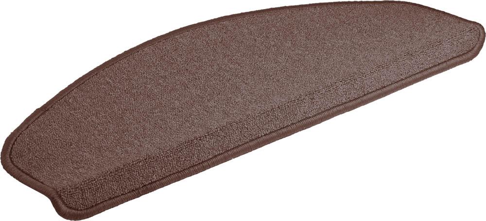 Коврик Vortex, на ступеньку, цвет: коричневый, 25 х 65 см27001Ворс коврика Vortex изготовлен из 100% полипропилена. Коврик оснащен выполненной из латекса подложкой, которая препятствует скольжению. Коврик Vortex гармонично впишется в интерьер вашего дома и создаст атмосферу уюта и комфорта. Изделие отлично подойдет как для использования в доме, так и снаружи.