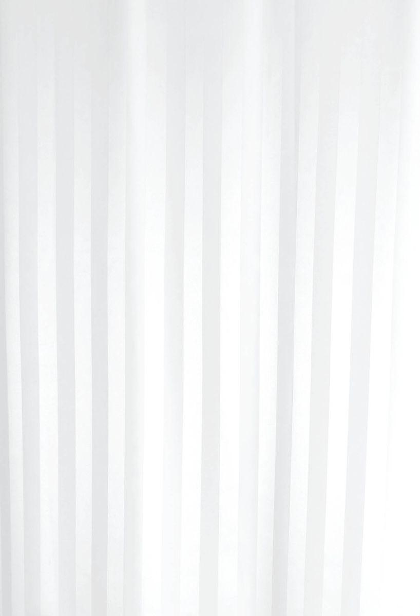Штора для ванной комнаты Vanstore Zober, цвет: белый, 180 х 180 см391602Штора для ванной комнатыVanstore Zober, изготовленная из высококачественного полиэстера, приятна на ощупь, устойчива к разрывам и проколам и не пропускает воду. Снабжена утяжеляющей полоской, не позволяющей занавеске мяться. Она надежно защитит от брызг и капель пространство вашей ванной комнаты в то время, пока вы принимаете душ, а привлекательный дизайн шторы наполнит вашу ванную комнату положительной энергией.