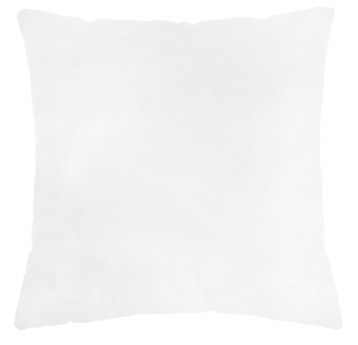 Подушка Подушкино Снежана, наполнитель: экофайбер, цвет: белый, 68 х 68 см531-105Подушка Снежана с наполнителем Экофайбер в чехле из импортной белой ткани. Подушка легко стирается и быстро сохнет.
