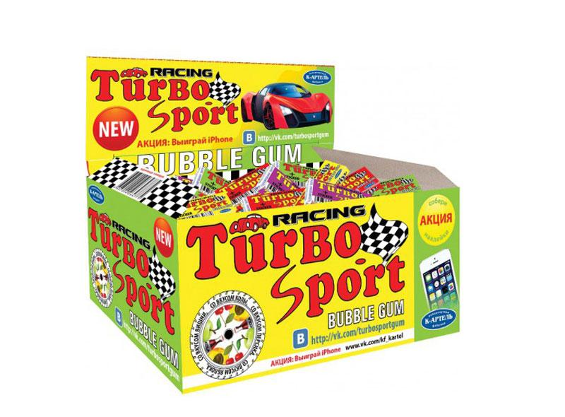 Жевательная резинка Вкусная помощь Turbo, 100 шт0120710Жвачка Турбои сейчас остается такой же вкусной, настоящей, и все с теми же изумительнымивкладышами. В упаковке - 100 вкуснейших жвачек с знакомыми с детства вкусами: кола, персик, яблоко и вишня.
