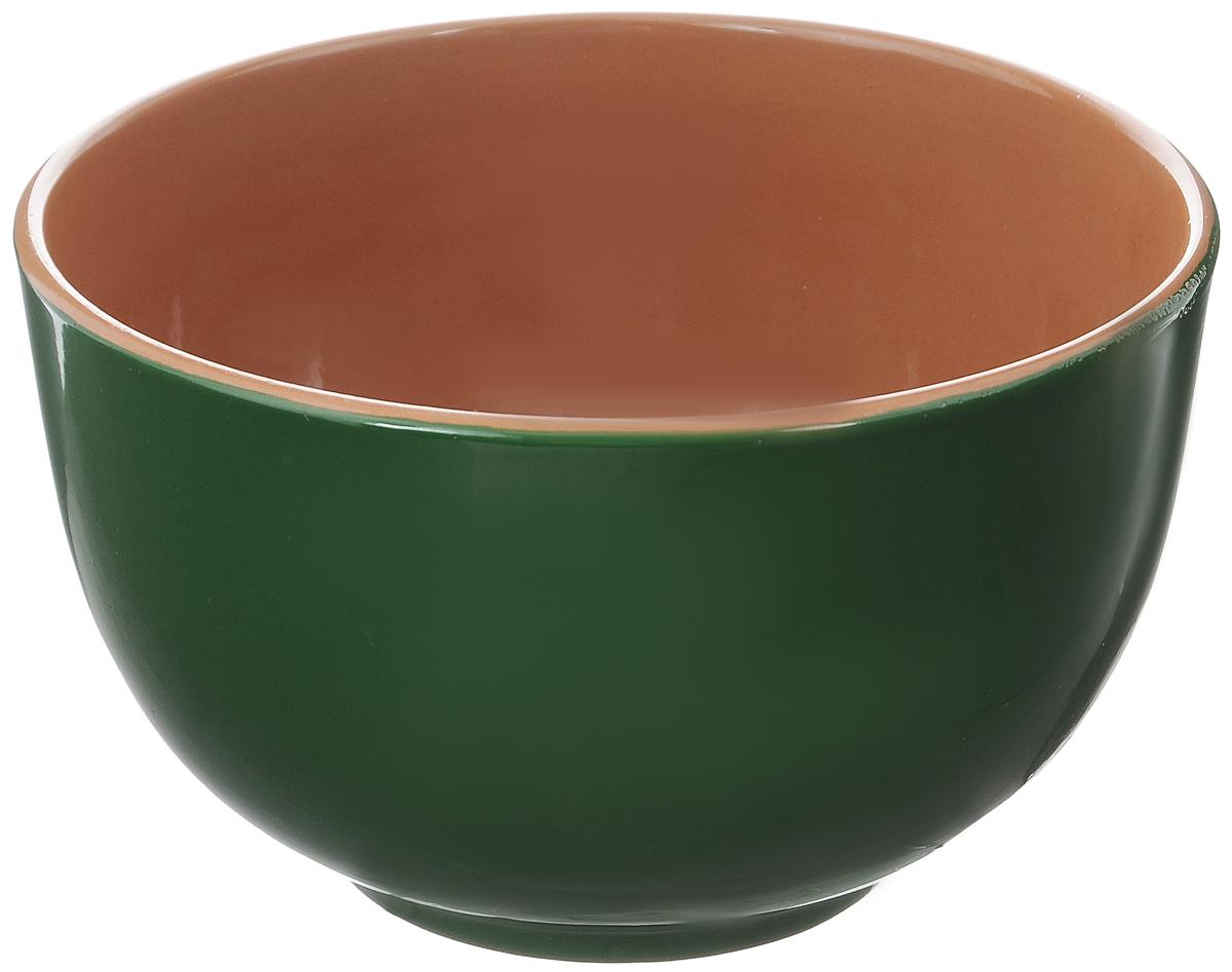Салатник Борисовская керамика Радуга, цвет: зеленый, коричневый, 2 л115510Салатник Борисовская керамика Радуга выполнен из высококачественной глазурованной керамики. Этот большой и вместительный салатник необходим на любом застолье, он идеально подходит для сервировки салатов и закусок. Изделие термостойкое, поэтому его можно использовать для запекания в духовке и микроволновой печи, с последующим хранением в нем приготовленной пищи. Такой яркий салатник отлично дополнит сервировку стола и подчеркнет ваш изысканный вкус.Диаметр (по верхнему краю): 20 см.Высота стенки: 12 см.