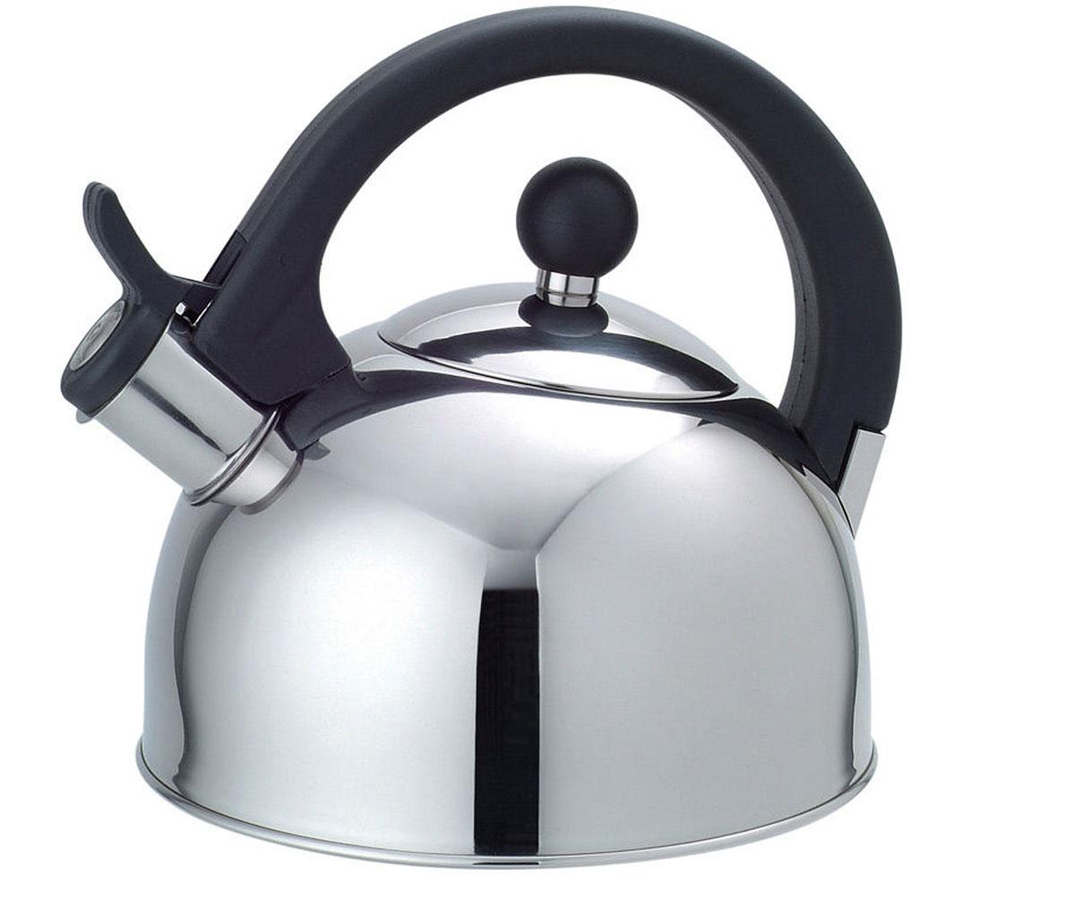 Чайник газовый Добрыня, 2,0 л54 009312Чайник Добрыня окажется незаменимым помощником в приготовлении чая. Высококачественные материалы обеспечивают продолжительную и безопасную эксплуатацию изделия. Кроме оригинального дизайнерского решения, комбинация высококачественного металла и свистка с внешней поверхностью из бакелита не позволяет обжечься о раскаленный носик чайника при открытии клапана, для того, чтобы набрать воду или разлить кипяток по чашкам.