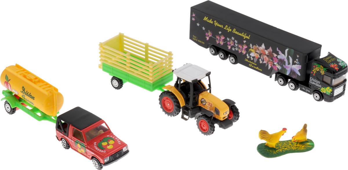 Pro-Engine Игровой набор Зеленая ферма с курами