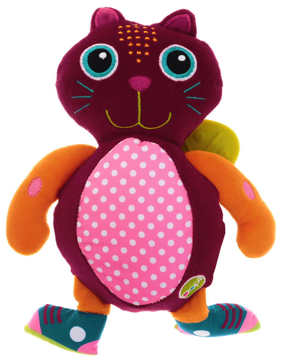 Oops Развивающая игрушка-прорезыватель Кошка Джери мягкие игрушки oops игрушка развивающая улитка