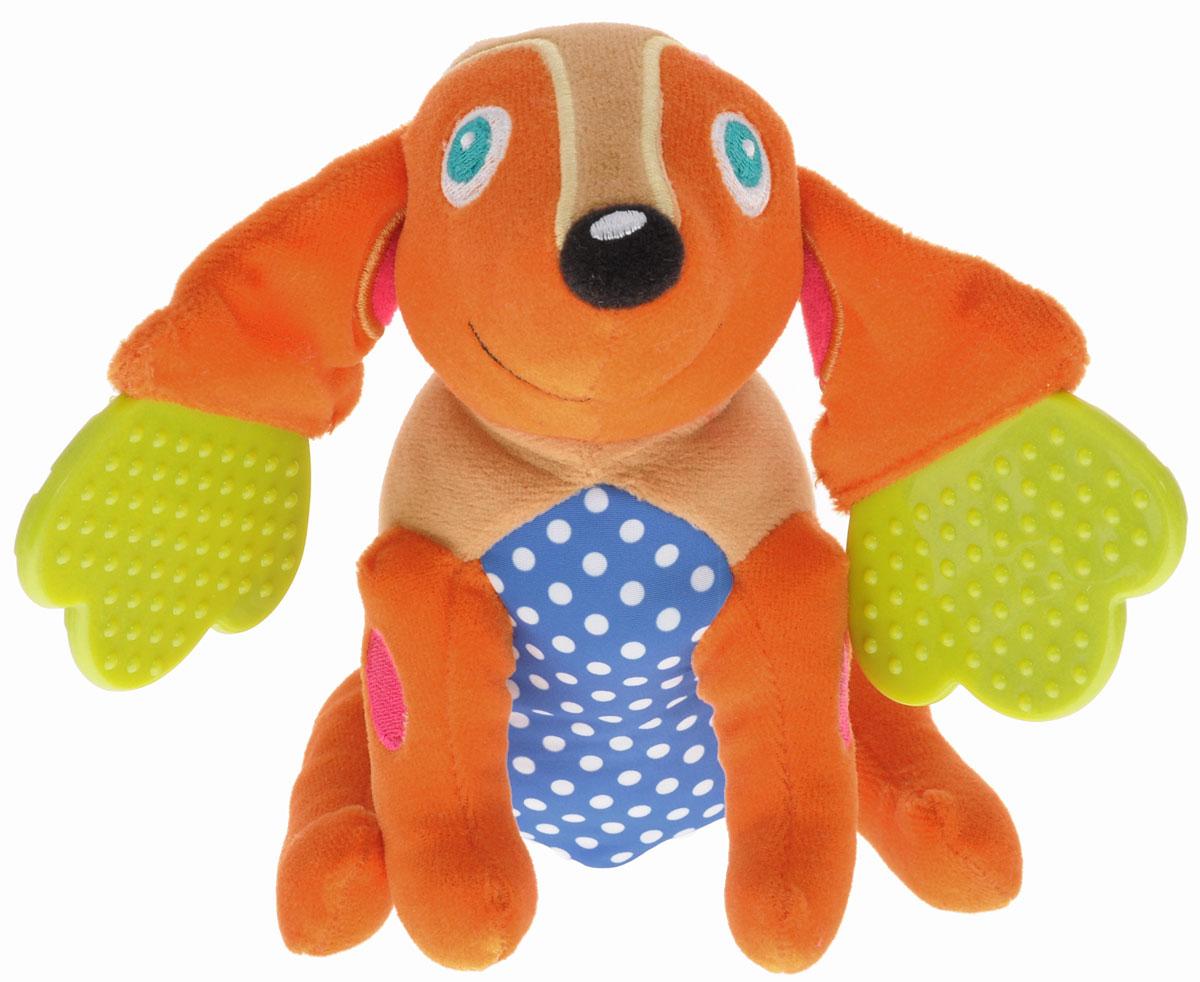 Oops Развивающая игрушка-прорезыватель Собака Хэппи мягкие игрушки oops игрушка развивающая улитка