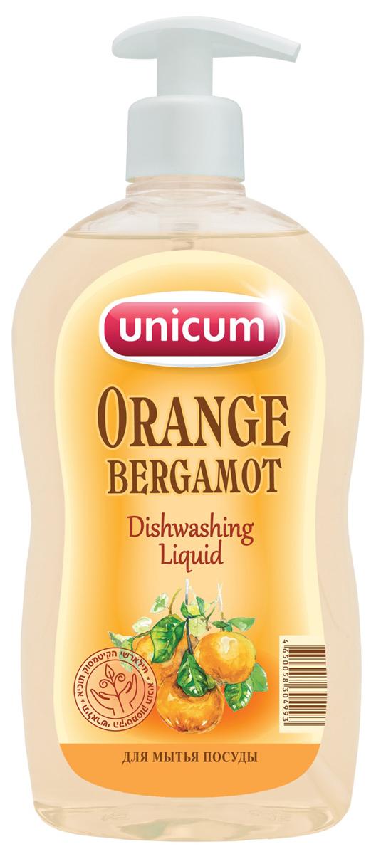 Средство для мытья посуды Unicum Апельсин-бергамот, 550 мл туфли мужские