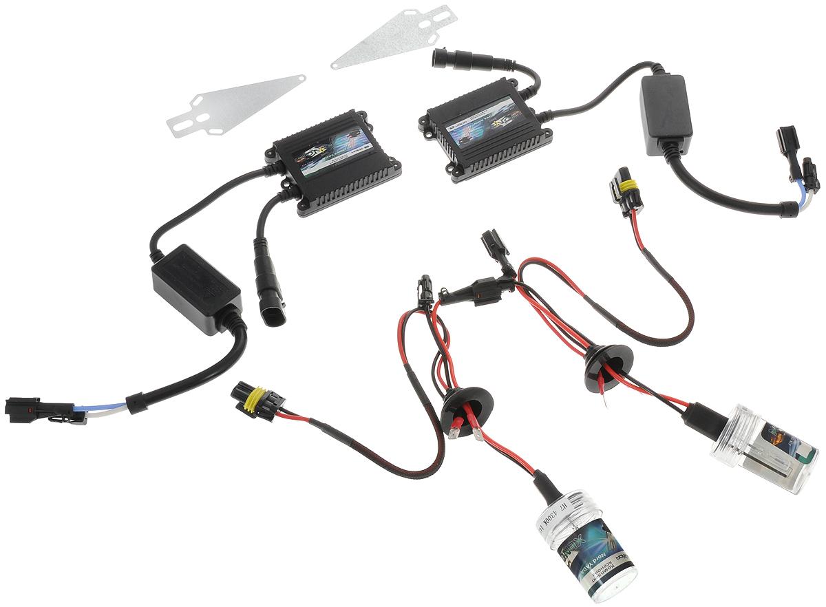 Комплект ксенона Nord YADA, цоколь H7, 9-16V, 35 W. 903177903177Ксеноновый комплект Nord YADA предназначен для использования в транспортных средствах. Он обеспечивает стабильное освещение дороги при плохих погодных условиях и в темноте. Комплект предназначен для использования в фарах ближнего света.Ксеноновая лампа - это источник света, представляющий собой состоящее из колбы с газом (ксеноном) устройство, в котором светится электрическая дуга, возникающая вследствие подачи напряжения на электроды лампы.Рабочий диапазон питающих напряжений: 9-16В.Диапазон рабочих температур: от -20°С до +120°С.Срок службы: 3000 ч.