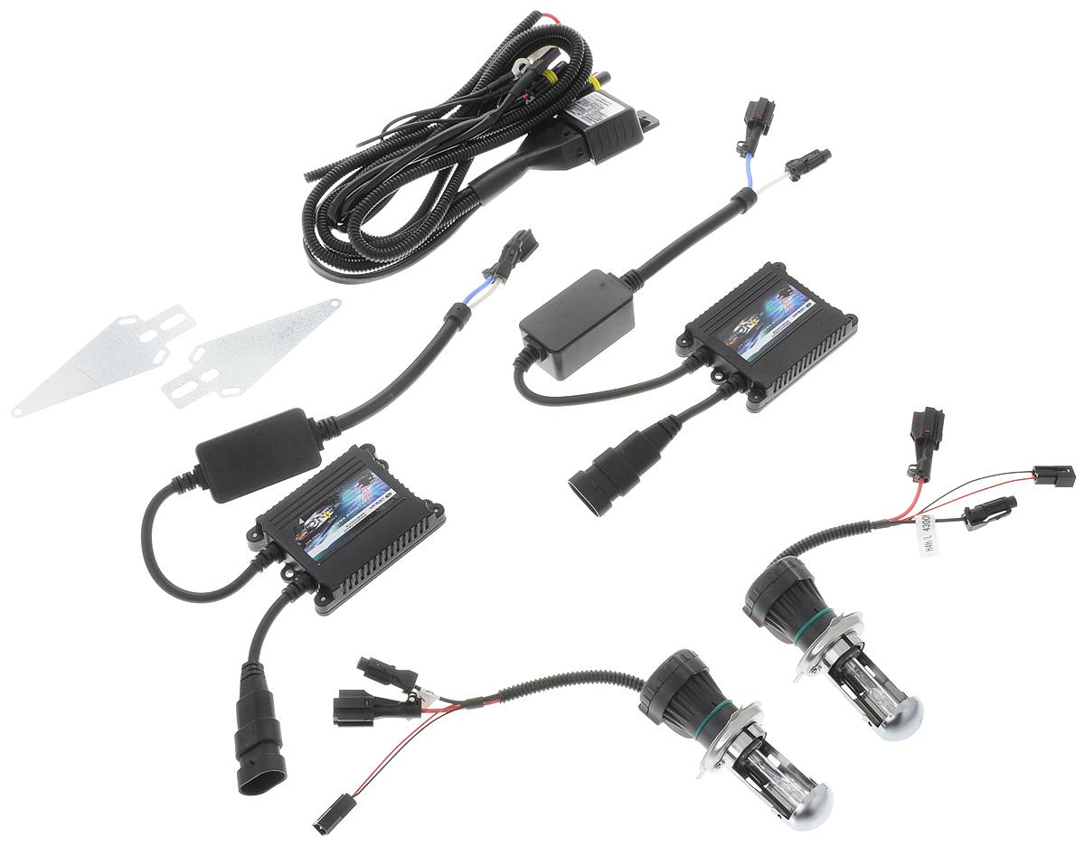 Комплект ксенона Nord YADA, цоколь H4, 9-16V, 35 W. 90317610498Ксеноновый комплект Nord YADA предназначен для использования в транспортных средствах. Он обеспечивает стабильное освещение дороги при плохих погодных условиях и в темноте. Комплект предназначен для использования в фарах ближнего и дальнего света.Биксеноновый комплект обеспечивает легкий переход от галогенового освещения к освещению ксеноном. Позволяет улучшить освещение дороги, повысить безопасность и снизить показатели потребляемой мощности вашего автомобиля.Рабочий диапазон питающих напряжений: 9-16В.Диапазон рабочих температур: от -20°С до +120°С.Срок службы: 3000 ч.