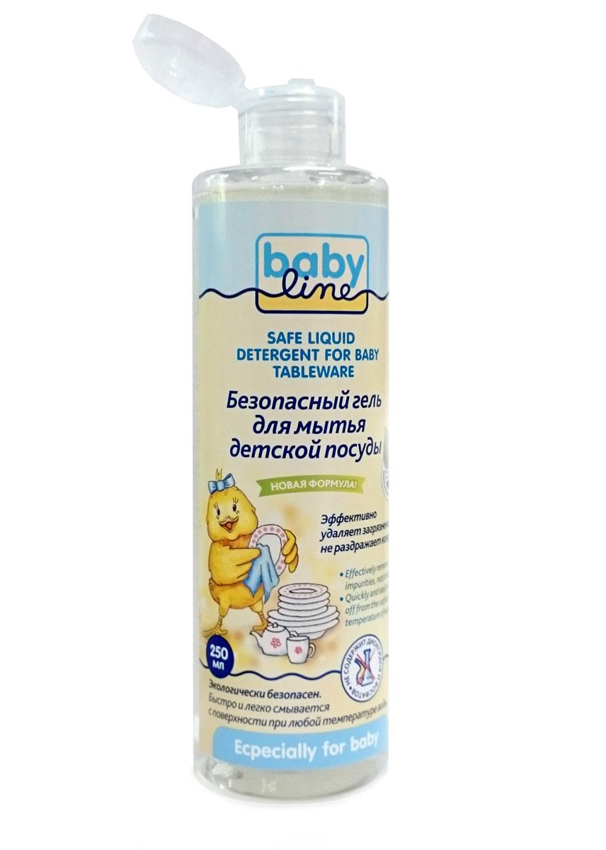 BabyLine Безопасный гель для мытья детской посуды 250 мл787502Натуральная формула моющего средства на травяной основе позволяет бороться с различными бактериями без вреда для детей. Возможно использование для мытья как детской посуды, так и овощей и фруктов. Экологически чистый продукт. Не содержит фосфатовМожно применять с первых дней жизни!Товар сертифицирован.