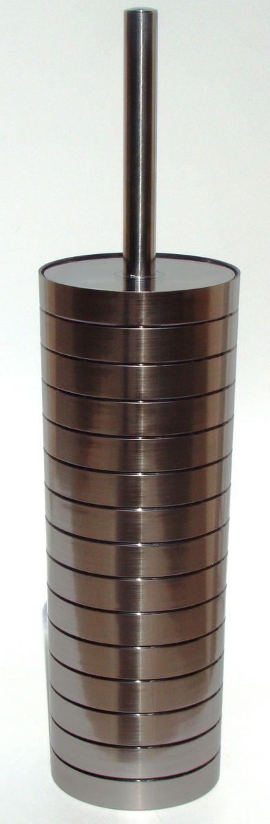 Ершик для унитаза Vanstore Grace, с подставкой, 2 предмета531-105Ершик для унитаза Vanstore Grace выполнен из пластика с жестким ворсом. Он хранится в специальной пластиковой подставке. Ерш отлично чистит поверхность, а грязь с него легко смывается водой.Стильный дизайн изделия притягивает взгляд и прекрасно подойдет к интерьеру туалетной комнаты.Изделия отлично сочетаются с другими аксессуарами из коллекции Grace.