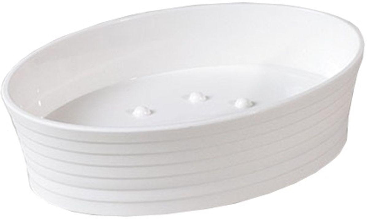 Мыльница Vanstore Style, 12,3 х 12,3 х 3,5 см531-105Оригинальная мыльница Vanstore Style, изготовленная из пластика, отлично подойдет для вашей ванной комнаты. Изделие отлично сочетается с другими аксессуарами из коллекции Style.Такая мыльница создаст особую атмосферу уюта и максимального комфорта в ванной.
