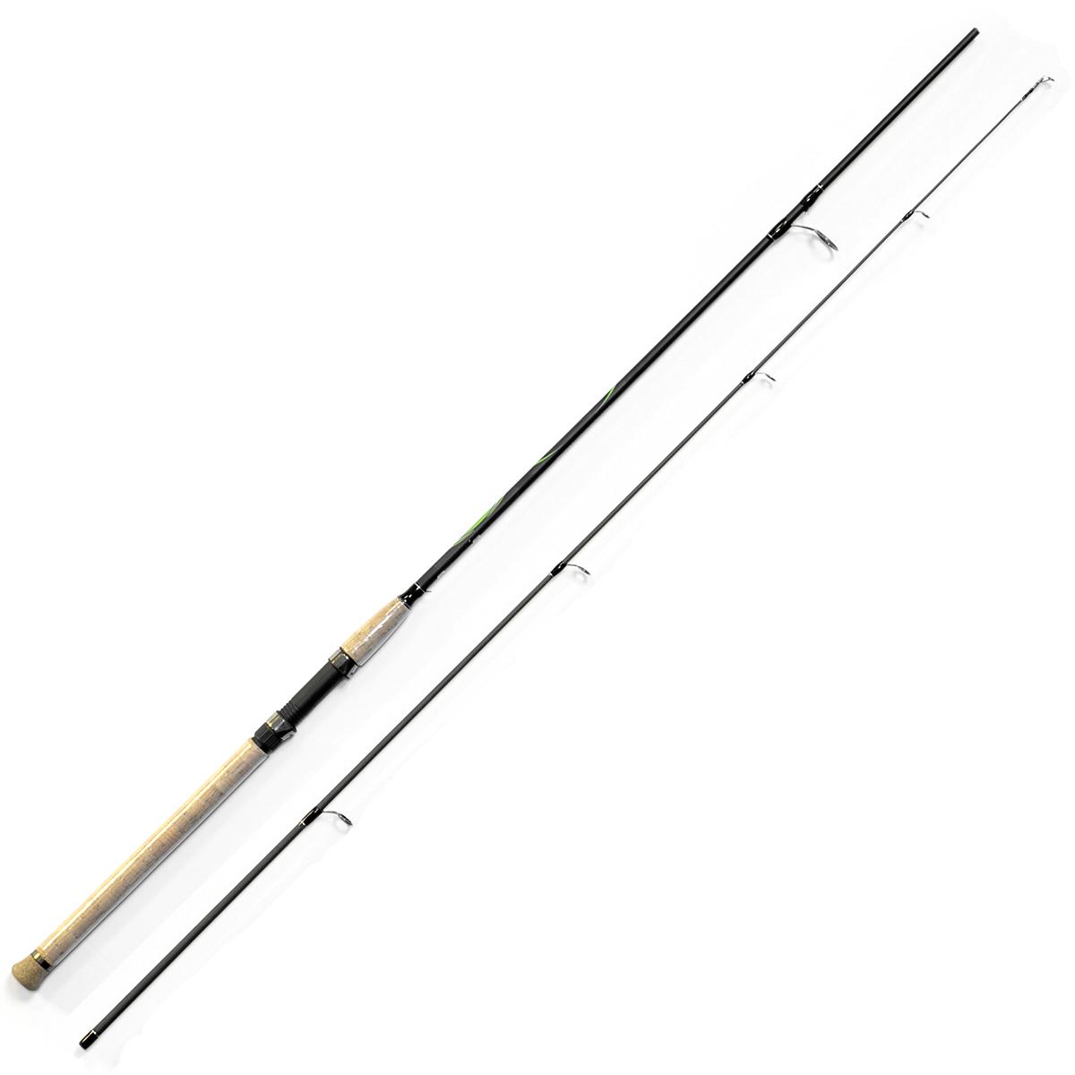 Спиннинг Salmo Sniper SPIN 20 2.10/ML, длина 2,1м, 5-20гPGPS7797CIS08GBNVУниверсальный спиннинг средне-быстрого строя для ловли на различные приманки, изготовленный из композита. Бланк спиннинга укомплектован облегченными кольцами, на высоких ножках со вставками SIC и элегантной рукояткой с пробковым покрытием и облегченным буфером на торце. Соединение колен спиннинга по типу OVER STEEK. Все спиннинги имеют один тест: 5–20 г.- Материал бланка удилища - композит- Строй бланка средне-быстрый- Класс спиннинга ML- Конструкция штекерная- Соединение колен типа OVER STEEK- Кольца пропускные:– облегченные большое– со вставками SIC– с расстановкой по классической концепции- Рукоятка:– пробковая- Катушкодержатель:– винтового типа- Проволочная петля для закрепления приманок