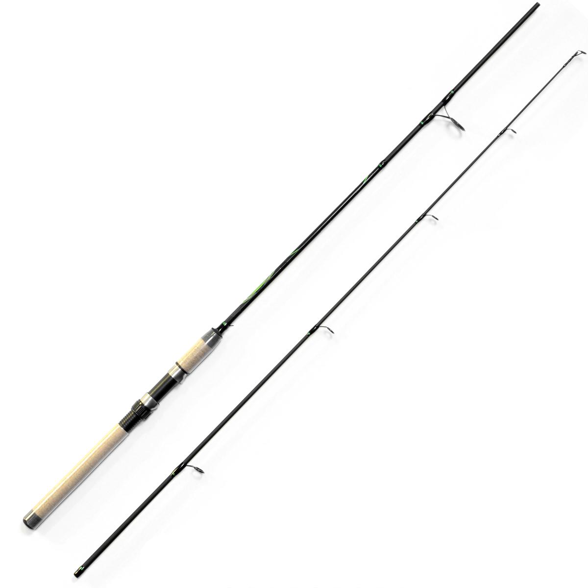 Спиннинг Salmo Sniper ULTRA SPIN 25 2.10, длина 2,1м, 5-25гPGPS7797CIS08GBNVУниверсальный спиннинг среднего строя из композита. Бланк имеет классическую расстановку колец со вставками SIC на одной ножке крепления, а самое большое – на двух, стык колен спиннинга произведен по типу OVER STEEK. Ручка имеет классический катушкодержатель с нижней гайкой крепления и пластиковый наконечник на торце.- Материал бланка удилища – композит- Строй бланка средний- Класс спиннинга M- Конструкция штекерная- Соединение колен типа OVER STEEK- Кольца пропускные:– усиленные– со вставками SIC– с расстановкой по классической концепции- Рукоятка: пробковая- Катушкодержатель:– винтового типа- Проволочная петля для закрепления приманок