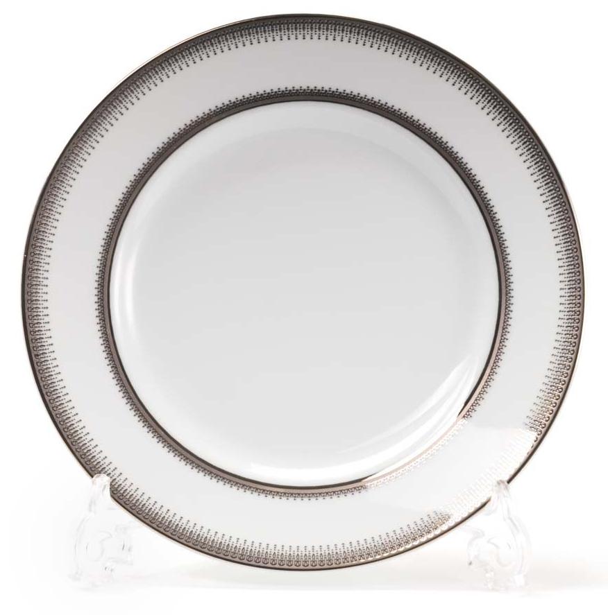 Набор десертных тарелок La Rose Des Sables Princier Platine, 19 см, 6 шт блюдо la rose des sables princier platine 23 5 см