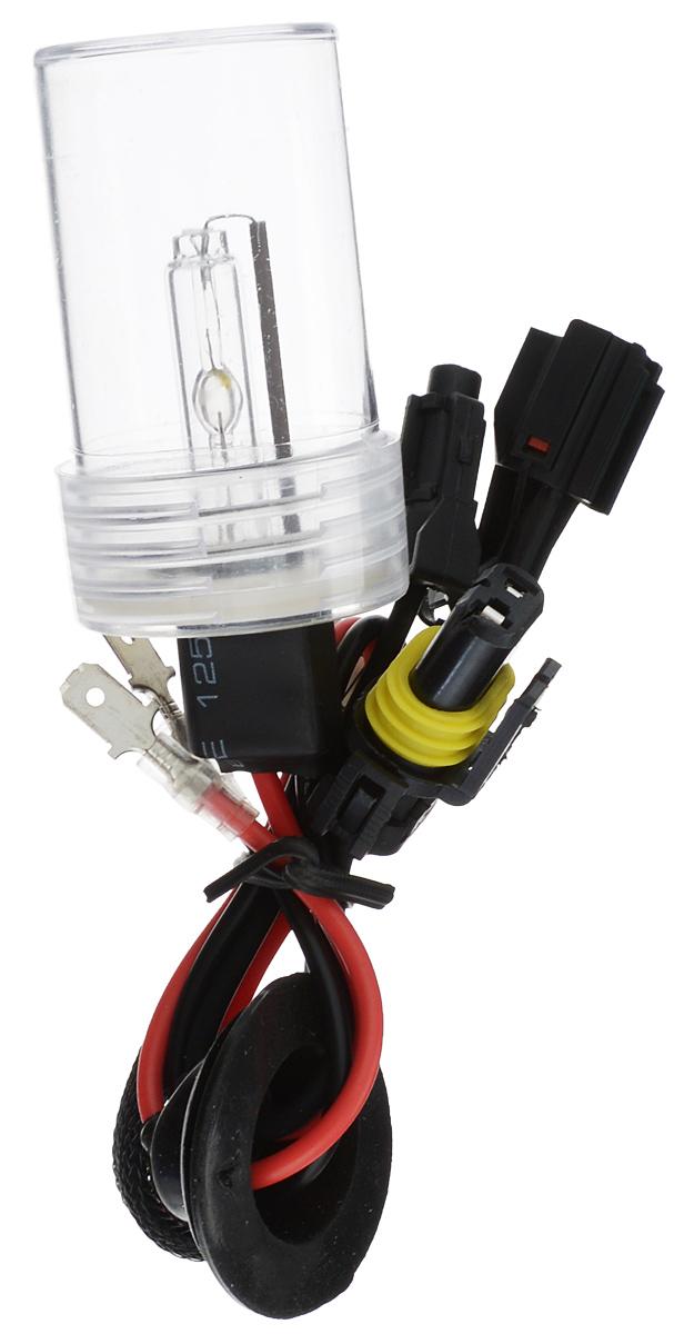 Лампа автомобильная ксеноновая Nord YADA, H3, 4300K80462Лампа автомобильная ксеноновая Nord YADA - это электрическая ксеноновая газозарядная лампа для автомобилей и других моторных транспортных средств. Ксеноновая лампа - это источник света, представляющий собой устройство, состоящее из колбы с газом (ксеноном), в котором светится электрическая дуга, которая возникает вследствие подачи напряжения на электроды лампы. Лампа дает яркий белый свет, близкий по спектру к дневному. Высокая яркость обеспечивает хорошее освещение дороги и безопасность. Свет лампы насыщенный и интенсивный, поэтому она идеально подходит для освещения дороги во время тумана. Преимущества по сравнению с галогенной лампой: - Безопасность - лучше освещает дорогу, помогает быстрее среагировать на дорожную обстановку; - Экономичность - потребляет меньше, а светит ярче; - Увеличенный срок службы - не имеет нити накаливания, поэтому долговечна и не боится тряски.