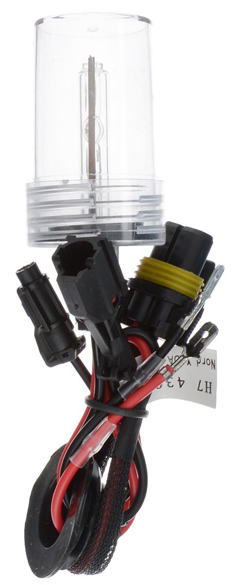 Лампа автомобильная ксеноновая Nord YADA, H7, 4300K10503Лампа автомобильная ксеноновая Nord YADA - это электрическая ксеноновая газозарядная лампа для автомобилей и других моторных транспортных средств. Ксеноновая лампа - это источник света, представляющий собой устройство, состоящее из колбы с газом (ксеноном), в котором светится электрическая дуга, которая возникает вследствие подачи напряжения на электроды лампы. Лампа предназначена для ближнего света. Дает яркий белый свет, близкий по спектру к дневному. Высокая яркость обеспечивает хорошее освещение дороги и безопасность. Свет лампы насыщенный и интенсивный, поэтому она идеально подходит для освещения дороги во время тумана. Преимущества по сравнению с галогенной лампой: - Безопасность - лучше освещает дорогу, помогает быстрее среагировать на дорожную обстановку; - Экономичность - потребляет меньше, а светит ярче; - Увеличенный срок службы - не имеет нити накаливания, поэтому долговечна и не боится тряски.