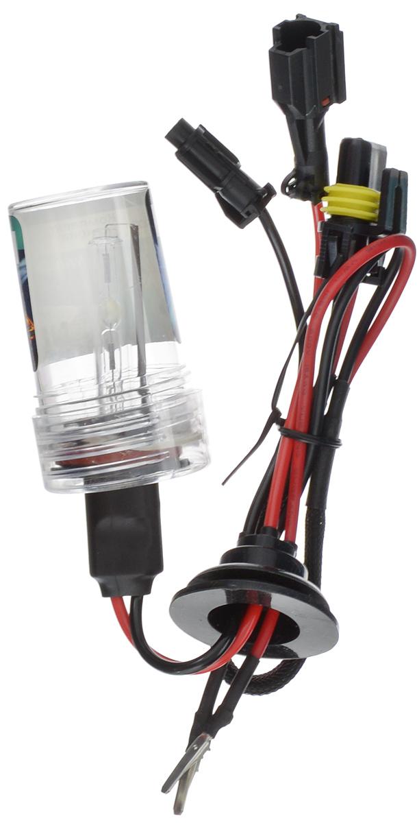 Лампа автомобильная ксеноновая Nord YADA, H11, 5000K10503Лампа автомобильная ксеноновая Nord YADA - это электрическая ксеноновая газозарядная лампа для автомобилей и других моторных транспортных средств. Ксеноновая лампа - это источник света, представляющий собой устройство, состоящее из колбы с газом (ксеноном), в котором светится электрическая дуга, которая возникает вследствие подачи напряжения на электроды лампы. Лампа дает яркий белый свет, близкий по спектру к дневному. Высокая яркость обеспечивает хорошее освещение дороги и безопасность. Свет лампы насыщенный и интенсивный, поэтому она идеально подходит для освещения дороги во время тумана. Преимущества по сравнению с галогенной лампой: - Безопасность - лучше освещает дорогу, помогает быстрее среагировать на дорожную обстановку; - Экономичность - потребляет меньше, а светит ярче; - Увеличенный срок службы - не имеет нити накаливания, поэтому долговечна и не боится тряски.