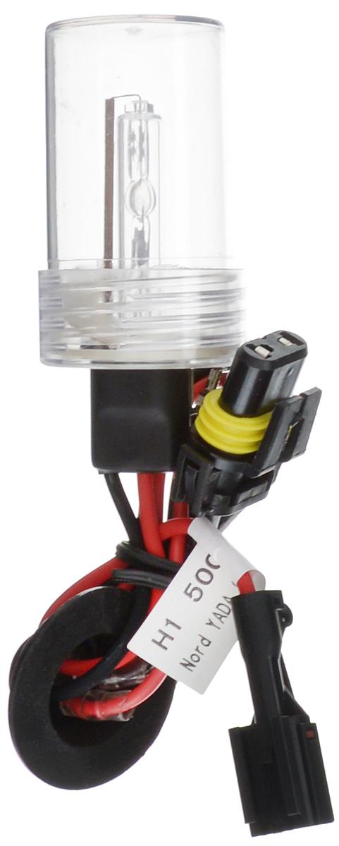 Лампа автомобильная ксеноновая Nord YADA, H1, 5000K10503Лампа автомобильная ксеноновая Nord YADA - это электрическая ксеноновая газозарядная лампа для автомобилей и других моторных транспортных средств. Ксеноновая лампа - это источник света, представляющий собой устройство, состоящее из колбы с газом (ксеноном), в котором светится электрическая дуга, которая возникает вследствие подачи напряжения на электроды лампы. Лампа дает яркий белый свет, близкий по спектру к дневному. Высокая яркость обеспечивает хорошее освещение дороги и безопасность. Свет лампы насыщенный и интенсивный, поэтому она идеально подходит для освещения дороги во время тумана. Преимущества по сравнению с галогенной лампой: - Безопасность - лучше освещает дорогу, помогает быстрее среагировать на дорожную обстановку; - Экономичность - потребляет меньше, а светит ярче; - Увеличенный срок службы - не имеет нити накаливания, поэтому долговечна и не боится тряски.