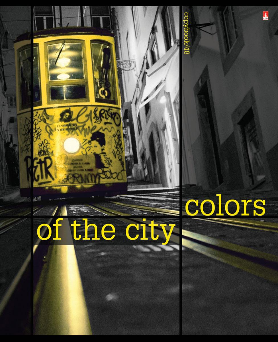 Альт Тетрадь Города Контрасты New 48 листов в клетку цвет желтый06319/455197Тетрадь Альт Города. Контрасты New подойдет студенту и школьнику.Всех любителей путешествий и больших городов порадует новая серия Города. Контрасты New. Обложка тетради выполнена из плотного картона. Для создания визуально объемного, живого изображения использован эффект иридиум - печать на фольгированной обложке. Стремительный ритм жизни в мегаполисах запечатлен в кадрах городской романтики. Серия Города. Контрасты New станет мини-экскурсом в мир ночных столиц, которые легко узнать по знаковым символам.Внутренний блок тетради состоит из 48 листов белой бумаги, соединенных двумя металлическими скрепками. Стандартная линовка в клетку голубого цвета дополнена полями.