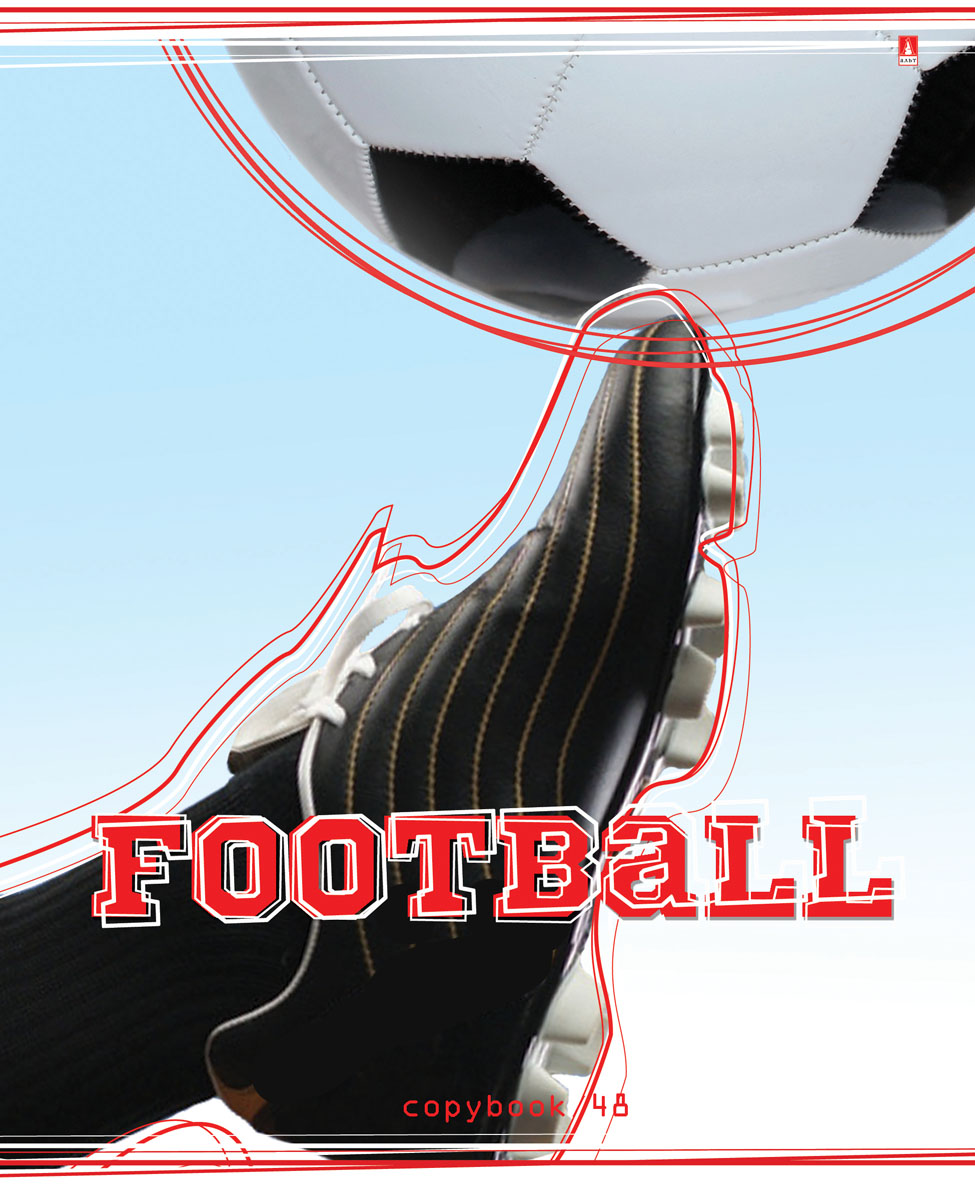Альт Тетрадь Футбол 48 листов в клетку Вид 439972_телегаТетрадь Альт Футбол отлично подойдет для занятий школьнику,студенту или для различных записей.Закругленная обложка тетради выполнена из качественного экологически чистого картона. Лицевая сторона оформлена изображением в виде футбольного мяча и бутсы.Внутренний блок тетради, соединенный двумя металлическими скрепками, состоит из 48 листов бумаги белого цвета формата А5.