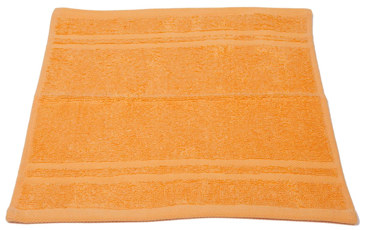 Полотенце махровое Arloni Marvel, цвет: оранжевый, 33 х 33 см. 44031CLP446Полотенце Arloni Marvel, выполненное из натурального хлопка, подарит вам мягкость и необыкновенный комфорт в использовании. Ткань не вызывает аллергических реакций, обладает высокой гигроскопичностью и воздухопроницаемостью. Полотенце великолепно впитывает влагу, нежное на ощупь не теряет своих свойств после многократной стирки.