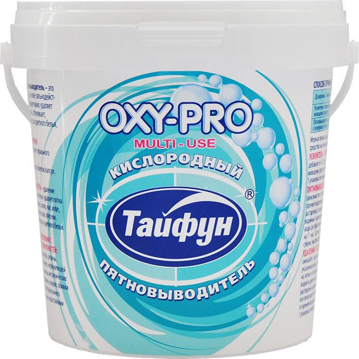 Кислородный пятновыводитель Тайфун OXY-PRO, 1 кгK100Кислородный пятновыводитель Тайфун, 1 кг, с мерной ложкой - это мощное чистящее средство на основе сильнодействующего кислорода, которое эффективно удаляет застарелые загрязнения и пятна, отбеливает, нейтрализует запахи, подходит для цветного белья. Усилитель стирки: усиливает действие стирального порошка, жидкого средства, таблеток, капсул. 1 упаковка - 90 стирок. Пятновыводитель: удаление пятен с одежды и белья: удаляет пятна травы, крови, вина, чая, кофе, масел и многие другие пятна. 1 упаковка - 181 цикл очистки. Удаление загрязнений с предметов и поверхностей: подходит для пластика, резины, стекла, камня, кафеля, эмалированных металлических поверхностей, фаянса, стеклокерамики, ковров, обивки мебели и т.д. 1 упаковка - 181 цикл очистки.