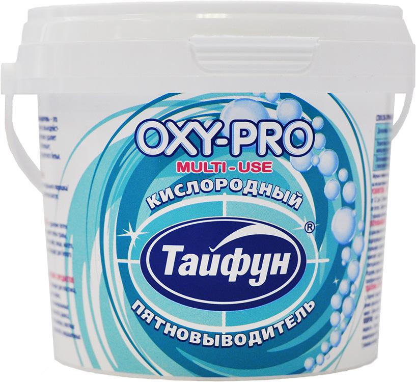Кислородный пятновыводитель Тайфун OXY-PRO, 270 гK100Кислородный пятновыводитель Тайфун, 270 г, с мерной ложкой - это мощное чистящее средство на основе сильнодействующего кислорода, которое эффективно удаляет застарелые загрязнения и пятна, отбеливает, нейтрализует запахи, подходит для цветного белья. Усилитель стирки: усиливает действие стирального порошка, жидкого средства, таблеток, капсул. 1 упаковка - 24 стирки. Пятновыводитель: удаление пятен с одежды и белья: удаляет пятна травы, крови, вина, чая, кофе, масел и многие другие пятна. 1 упаковка - 49 циклов очистки. Удаление загрязнений с предметов и поверхностей: подходит для пластика, резины, стекла, камня, кафеля, эмалированных металлических поверхностей, фаянса, стеклокерамики, ковров, обивки мебели и т.д. 1 упаковка - 49 циклов очистки.