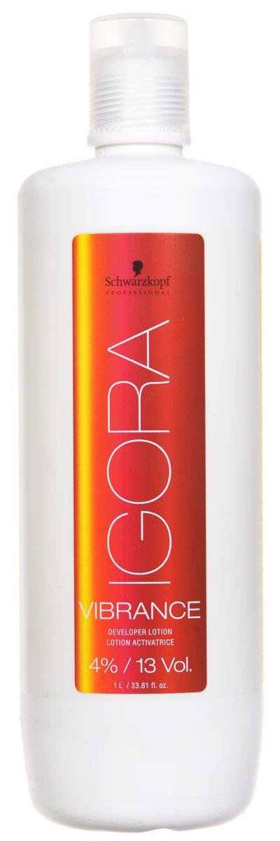 Igora Вибранс Лосьон-активатор 4% 1000 млSatin Hair 7 BR730MNЛосьон-активатор для применения со всем ассортиментом Igora Vibrance. 4%