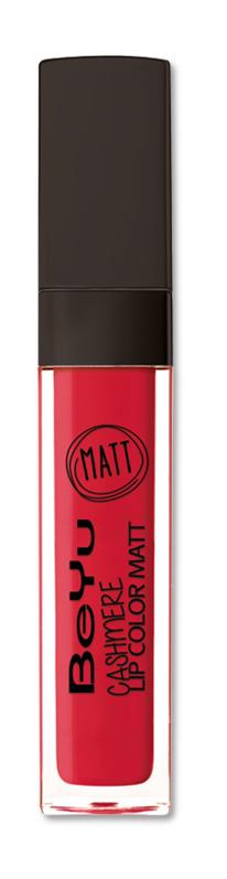 BeYu Помада для губ матовая стойкая Cashmere Lip Color Matt 19 6,5 млMFM-3101Стойкая жидкая помада с матовым эффектом и нежной текстурой. Идеально держится на губах весь день, не растекается и не скатывается. Модное матовое покрытие ставит яркий акцент на улыбке, насыщенные оттенки помады усиливает эффект. Макияж губ выглядит выразительно и чувственно. Помада легко наносится благодаряю удобному закругленному аппликатору.