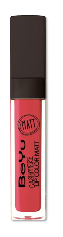 BeYu Помада для губ матовая стойкая Cashmere Lip Color Matt 85 6,5 мл5010777139655Стойкая жидкая помада с матовым эффектом и нежной текстурой. Идеально держится на губах весь день, не растекается и не скатывается. Модное матовое покрытие ставит яркий акцент на улыбке, насыщенные оттенки помады усиливает эффект. Макияж губ выглядит выразительно и чувственно. Помада легко наносится благодаряю удобному закругленному аппликатору.