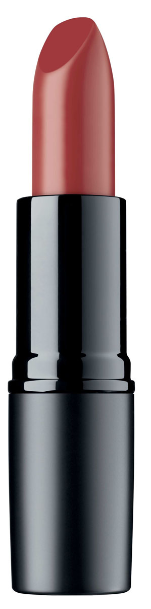 Artdeco Помада для губ матовая стойкая Perfect Mat Lipstick 121 4 г886V15466Устойчивая помада с матовой текстурой - модный эффект и безупречный макияж губ весь день! Благодаря воскам в составе, помада идеально наносится, равномерно распределяется и не растекается за контуры губ. Интенсивный цвет и бархатная матовая текстура помогают создать яркий и соблазнительный макияж губ.