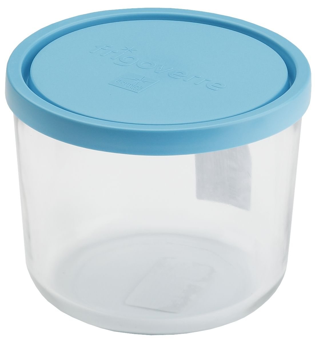 Контейнер Bormioli Rocco Frigoverre, круглый, цвет крышки: синий, 700 мл79 02471Стеклянный герметичный контейнер Bormioli Rocco Frigoverre для хранения пищи с синей крышкой. Из холодильника сразу в микроволновую печь! Выдерживают температурный удар от - 20С до +70С. Безопасны для хранения готовых продуктов. Не содержат Бисфенол А. BPA Free. Закаленное стекло. В 5 раз повышена ударостойкость. Устойчивы к царапинам и сколам. Удобство использования. Изделия легко моются. Можно использовать в посудомоечной машине. Настоящее итальянское качество!
