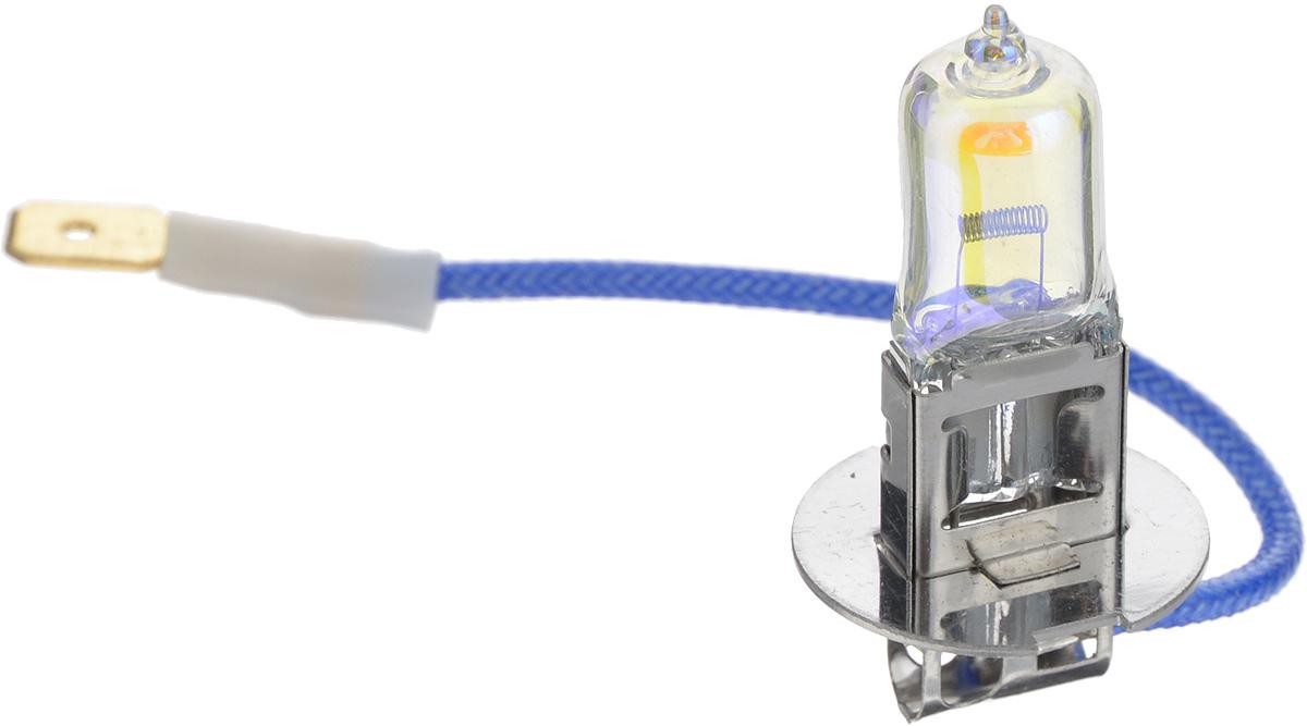 Лампа автомобильная галогенная Nord YADA Rainbow, всепогодная, цоколь H3, 12V, 55W10503Лампа автомобильная галогенная Nord YADA Rainbow - это электрическая галогенная лампа с вольфрамовой нитью для автомобилей и других моторных транспортных средств. Виброустойчива, надежна, имеет долгий срок службы. Галогенные лампы предназначены для использования в фарах ближнего, дальнего и противотуманного света. Колба с радужным нанесением (мыльный пузырь) обеспечивает водителям комфортное освещение и управление на дороге в любую погоду.