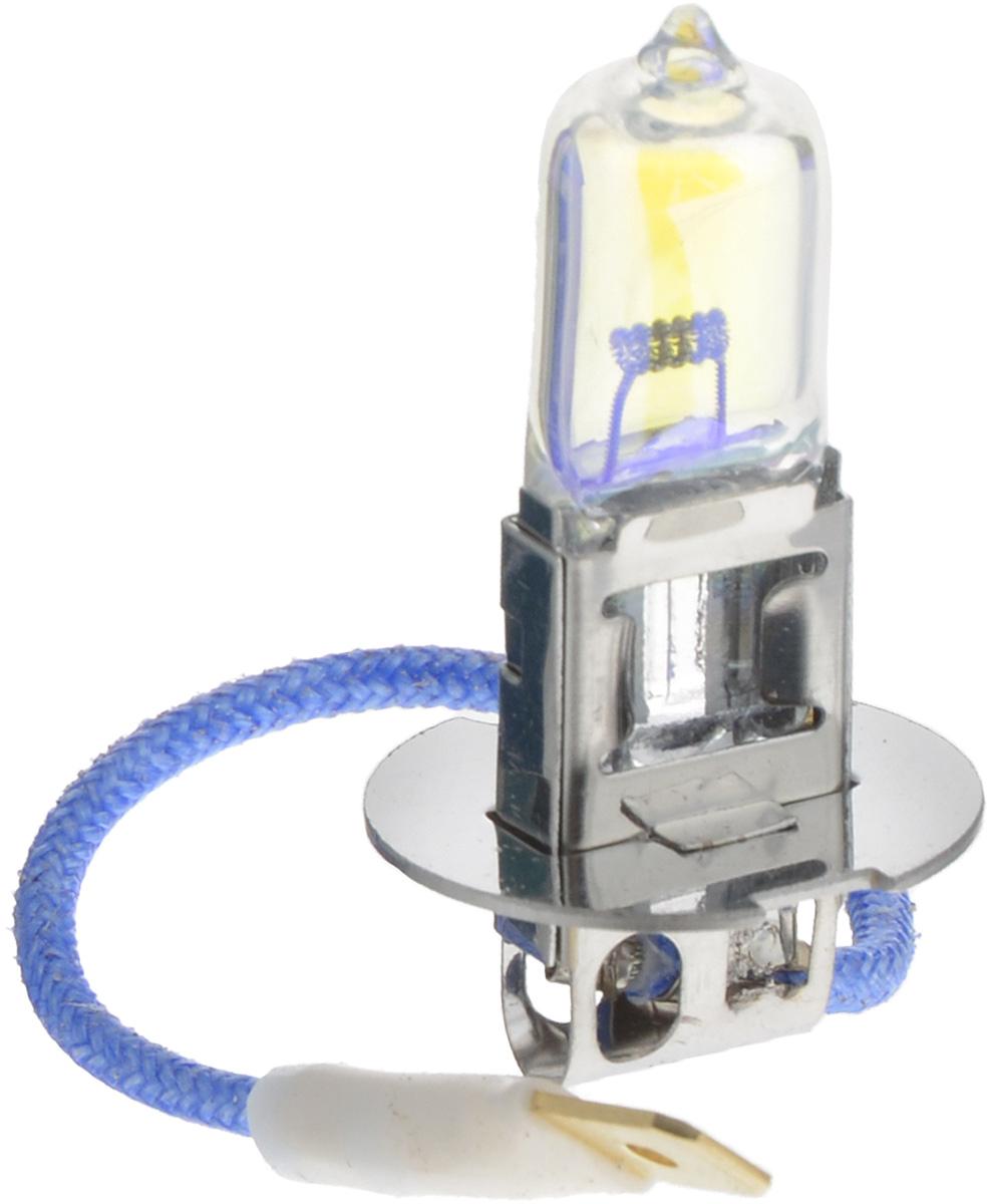 Лампа автомобильная галогенная Nord YADA Rainbow, всепогодная, цоколь H3, 24V, 70W10503Лампа автомобильная галогенная Nord YADA Rainbow - это электрическая галогенная лампа с вольфрамовой нитью для автомобилей и других моторных транспортных средств. Виброустойчива, надежна, имеет долгий срок службы. Галогенные лампы предназначены для использования в фарах ближнего, дальнего и противотуманного света. Колба с радужным нанесением (мыльный пузырь) обеспечивает водителям комфортное освещение и управление на дороге в любую погоду.