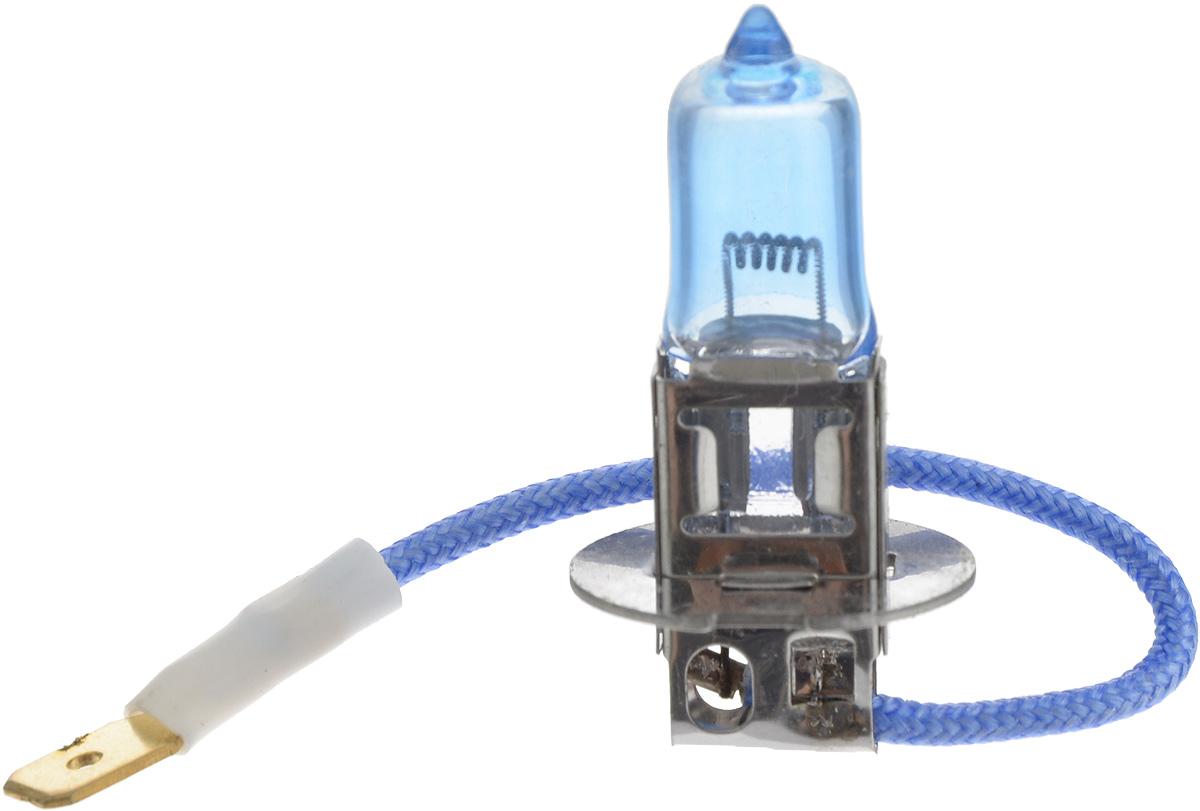 Лампа автомобильная галогенная Nord YADA Super White, цоколь H3, 24V, 100W10503Лампа автомобильная галогенная Nord YADA Super White - это электрическая галогенная лампа с вольфрамовой нитью для автомобилей и других моторных транспортных средств. Виброустойчива, надежна, имеет долгий срок службы. Галогенные лампы предназначены для использования в фарах ближнего, дальнего и противотуманного света. Лампа имеет голубое напыление на колбе, что дает более белый лунный свет. Данная характеристика помогает лучше освещать дорогу для водителей и делает автомобиль более заметным на трассах.