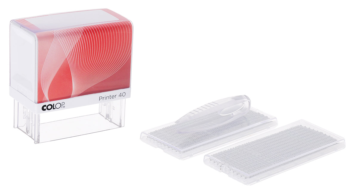 Colop Штамп самонаборный Printer 40 Set-F -  Штемпельная продукция