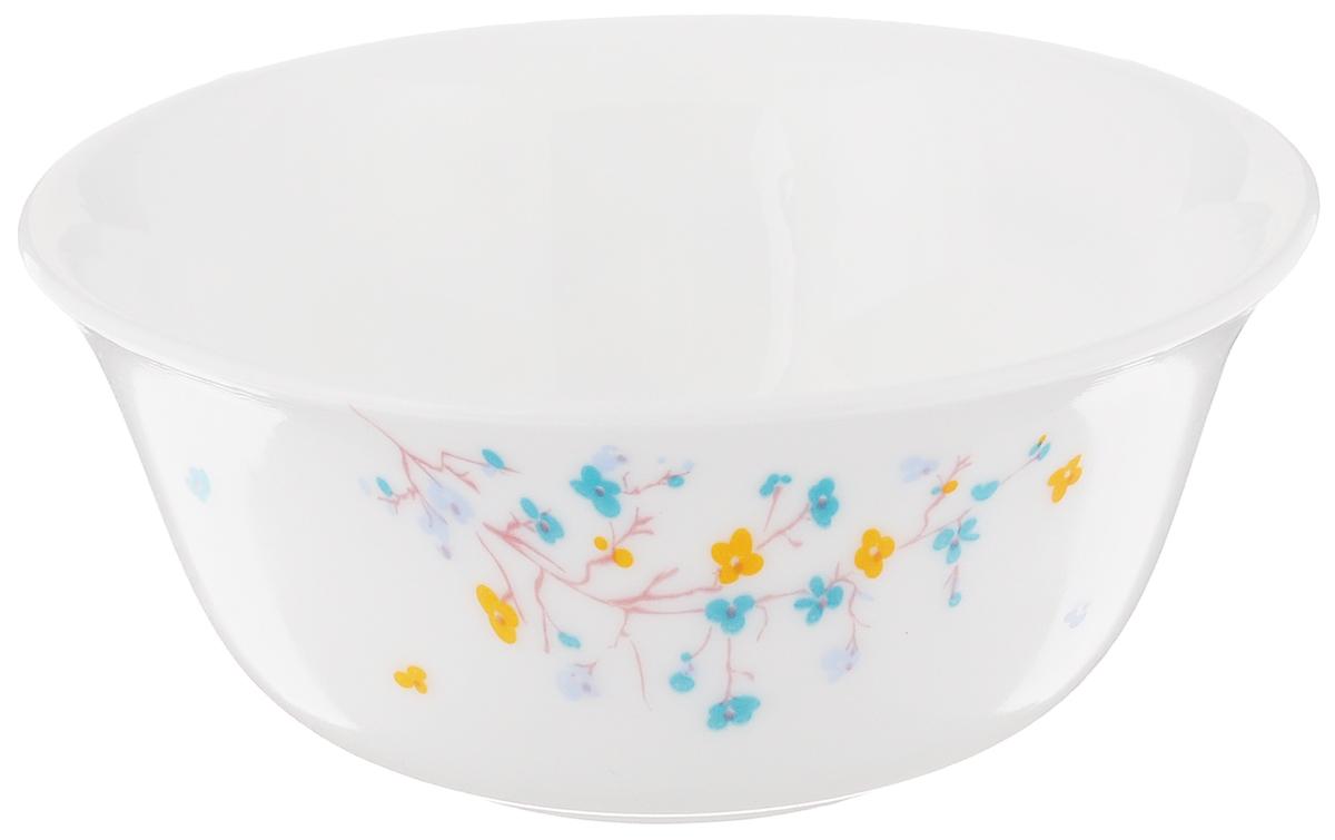 Салатник Luminarс Zen Essence, диаметр 12 смH1497Элегантный салатник Luminarс Zen Essence изготовлен из высококачественного прочного стекла. Внешние стенки оформлены цветочным дизайном. Салатник Luminarс Zen Essence идеально подойдет для сервировки стола и станет отличным подарком к любому празднику.Диаметр салатника: 12 см.