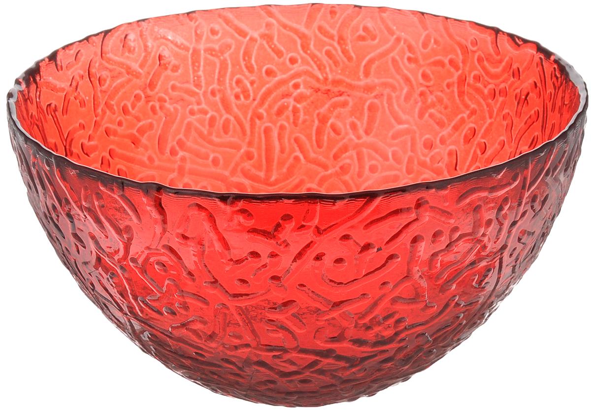Салатник Ninaglass Ажур, цвет: красный, диаметр 16 см115510Салатник Ninaglass Ажур выполнен извысококачественного стекла и декорированрельефным узором. Он подойдет для сервировкистола как для повседневных, так и дляторжественных случаев.Такой салатник прекрасно впишется в интерьервашей кухни и станет достойным дополнением ккухонному инвентарю. Подчеркнет прекрасныйвкус хозяйки и станет отличным подарком.Не рекомендуется использовать вмикроволновой печи и мыть в посудомоечноймашине.Диаметр салатника (по верхнему краю): 16 см.Высота стенки: 8 см.