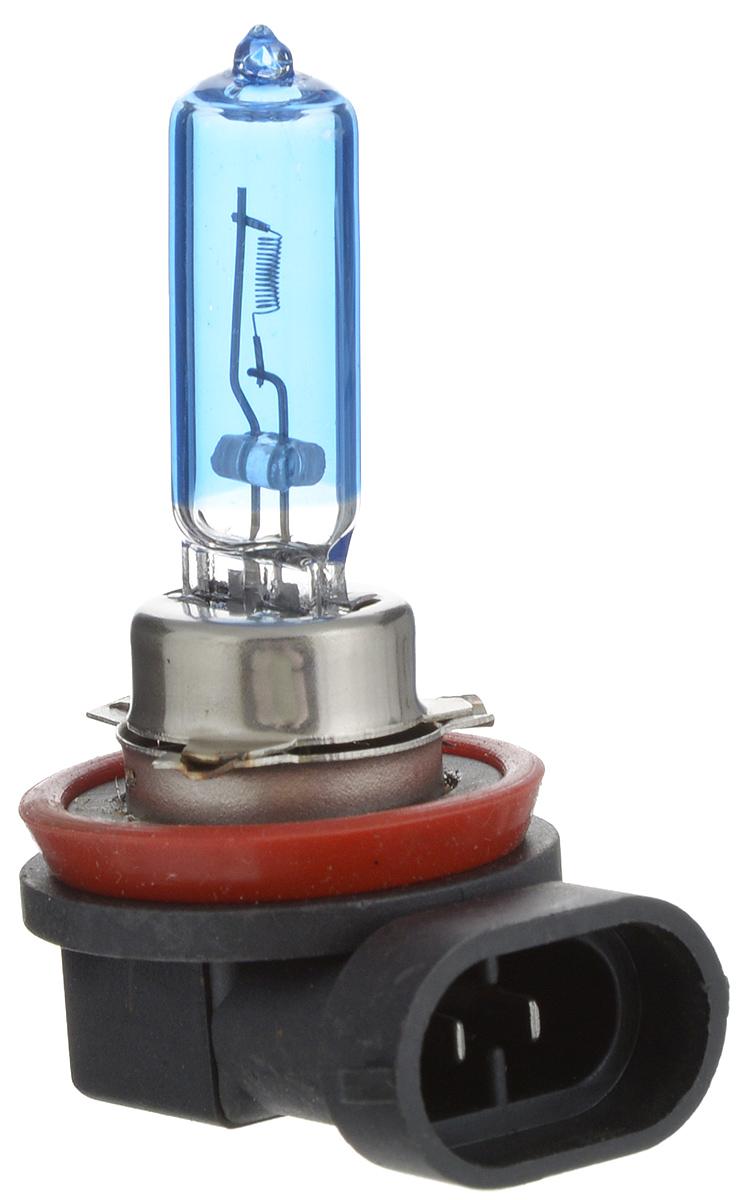 Лампа автомобильная галогенная Nord YADA Super White, цоколь H9, 12V, 65W10503Лампа автомобильная галогенная Nord YADA Super White - это электрическая галогенная лампа с вольфрамовой нитью для автомобилей и других моторных транспортных средств. Виброустойчива, надежна, имеет долгий срок службы. Галогенные лампы предназначены для использования в фарах ближнего, дальнего и противотуманного света. Лампа имеет голубое напыление на колбе, что дает более белый лунный свет. Данная характеристика помогает лучше освещать дорогу для водителей и делает автомобиль более заметным на трассах.