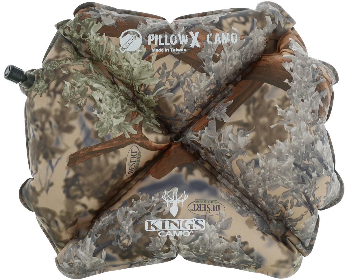 Подушка надувная Klymit  Pillow X Camo  - Подушки, пледы, коврики
