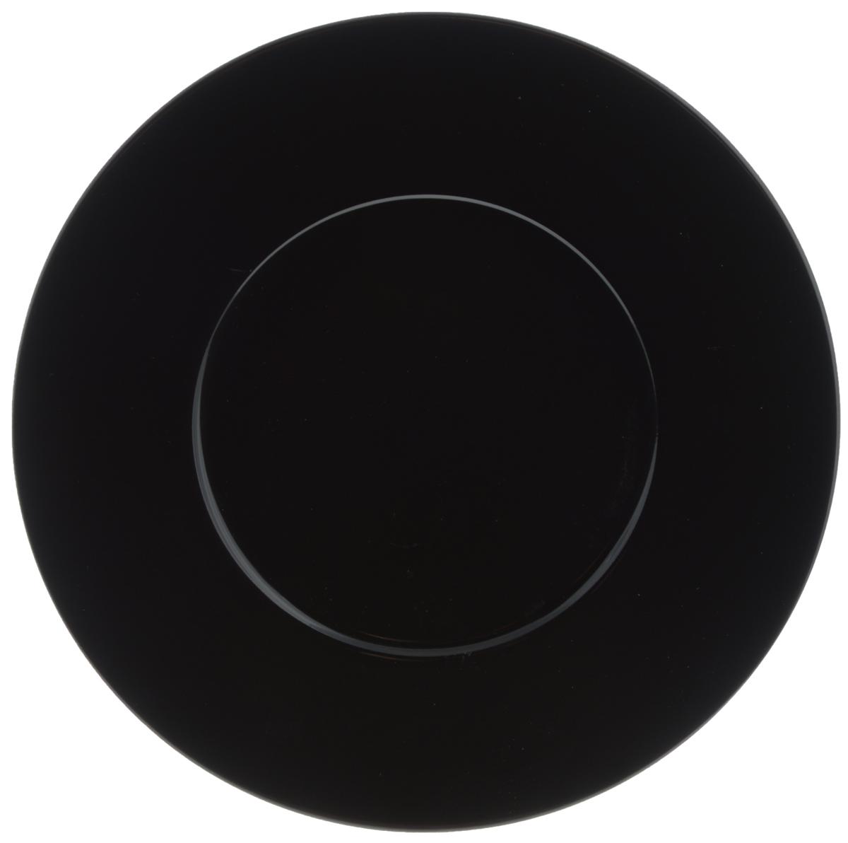 Тарелка обеденная Yves De La Rosiere Putoisage, цвет: черный, диаметр 27 см507754Обеденная тарелка Yves De La Rosiere Putoisage, изготовленная из высококачественного фарфора,имеет изысканный внешний вид. Такой дизайн придется по вкусу и ценителям классики,и тем, кто предпочитает утонченность. Тарелка Yves De La Rosiere Putoisage идеально подойдет для сервировкистола и станет отличным подарком к любому празднику.